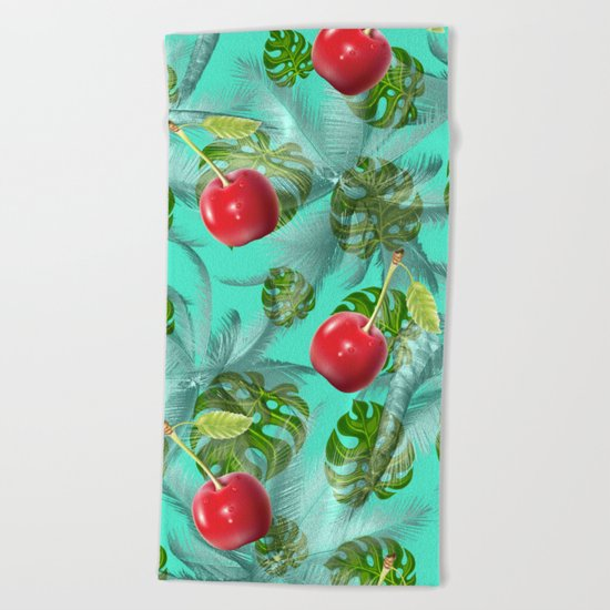 pattern nature  Beach Towel