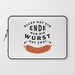 German Sausage Oktoberfest Laptop Sleeve