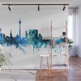 Dusseldorf Germany Skyline Wall Mural