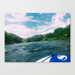 Raft Canvas Print