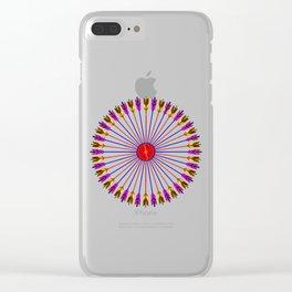 Arrows Design Clear iPhone Case