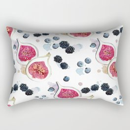 Figs and Berries Rectangular Pillow