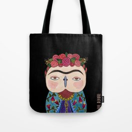 Frida Owl Tote Bag