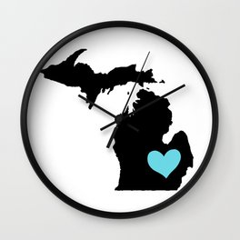 Home Is Where The Heart Is. Wall Clock