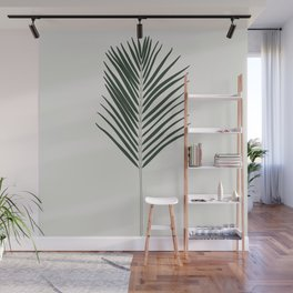 Areca Palm Branch Illustration Wall Mural