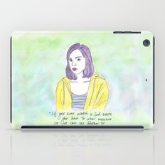 April Ludgate iPad Case