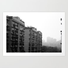 buildings around me Art Print