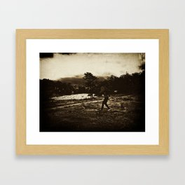 Paz Framed Art Print