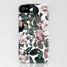 Vintage garden iPhone (4, 4s) Slim Case