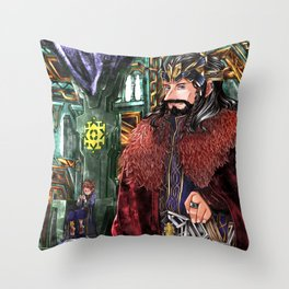 Consort AU Throw Pillow