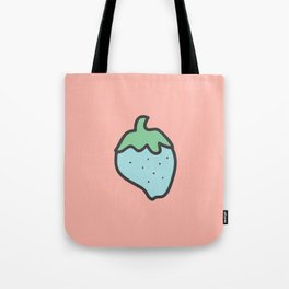 Cotton Candy Strawberry Tote Bag