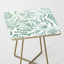 GREEN HERBS Side Table