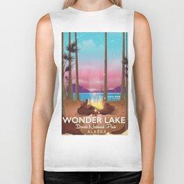 Wonder Lake, Denali national park Alaska Biker Tank