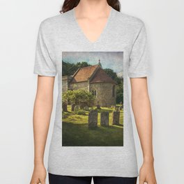 St Peter and St Paul Checkendon Unisex V-Neck
