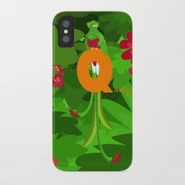 q for quetzal iPhone Case