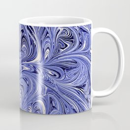 Mirror Blue Oil Gestalt Abstract II Coffee Mug