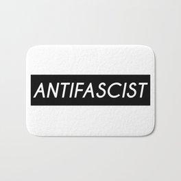Antifascist (black background) Bath Mat