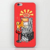 shiba iPhone & iPod Skins featuring Shiba Slots by  terrorbunnystudios