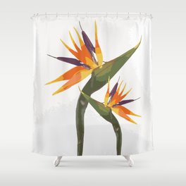 Paradise Flower Shower Curtain