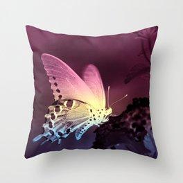Swallowtail Gradient Throw Pillow