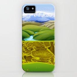 The Lie of the Land: Tararua iPhone Case