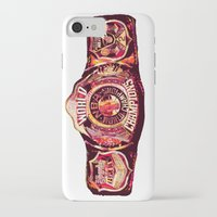 nba iPhone & iPod Cases featuring NBA CHAMPIONSHIP BELT by mergedvisible