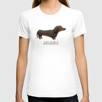 dachshund T-shirts featuring Dachshund by 52 Dogs