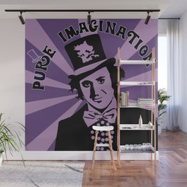 Willy Wonka's Pure Imagination Wall Mural