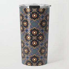 Beautiful Beadwork Inspired Print Travel Mug