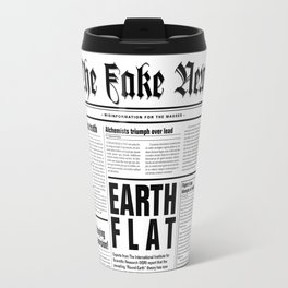 The Fake News Vol. 1, No. 1 Travel Mug
