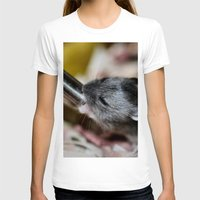 hamster T-shirts featuring Tiny Hamster by IowaShots