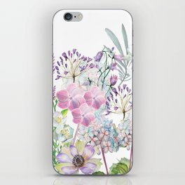 Spring Flowers Bouquet iPhone Skin