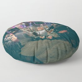 New york city Food Floor Pillow