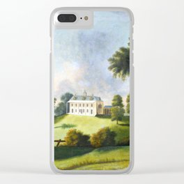 George Ropes Mount Vernon Clear iPhone Case