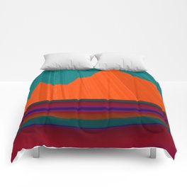 Paint Me a Mountain Comforters