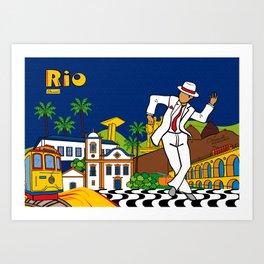Rio Bohemia Art Print