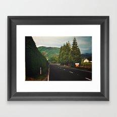 On the Road Framed Art Print