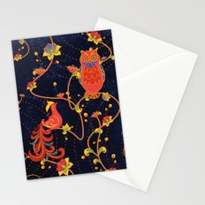 Folk Art Stationery Cards