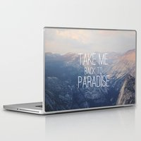 yosemite Laptop & iPad Skins featuring Yosemite Paradise  by Tara Yarte