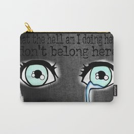 Teary Eyed Carry-All Pouch
