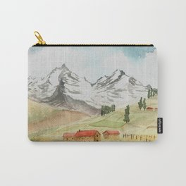A Highland Village Carry-All Pouch