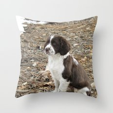 Baby Freckles Throw Pillow