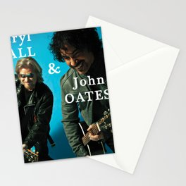 hall oates blue tour 2020 ngamein Stationery Cards