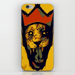 King Lion R E M I X iPhone Skin