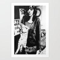 Ramone Art Print