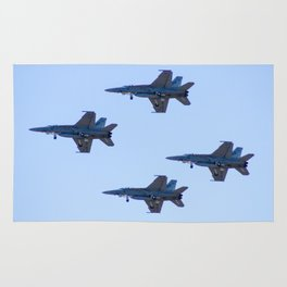 Avalon Airshow - RAAF FA-18 Hornets - Formation Flying Rug