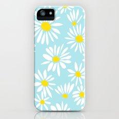 White Daisies iPhone (5, 5s) Slim Case