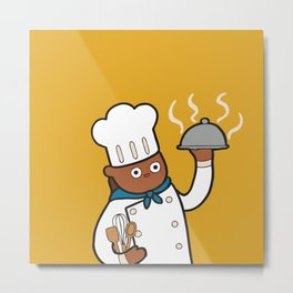 When I grow up I want to be a chef! Metal Print