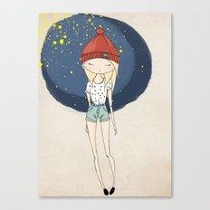 Ange - Fashion illustration Canvas Print