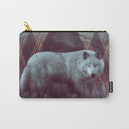 In Wildness | Wolf Carry-All Pouch